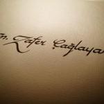 kaligrafi çalışmaları örneği 14