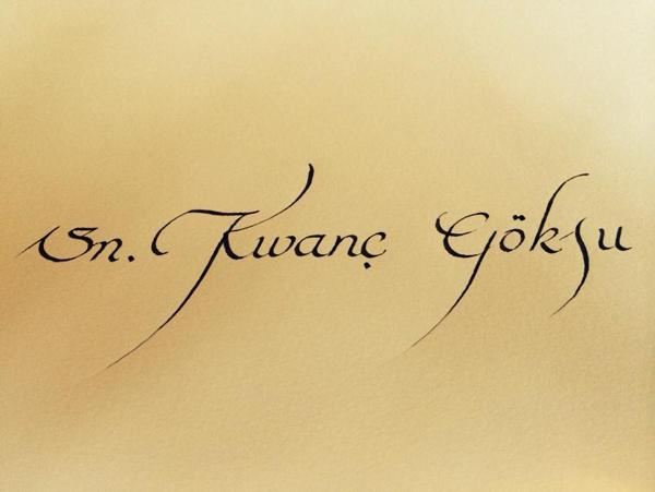 kaligrafi çalışmaları örneği 9