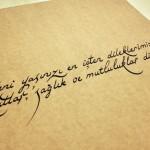 kaligrafi çalışmaları örneği 11