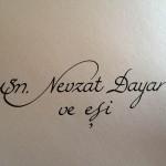 kaligrafi çalışmaları örneği 3